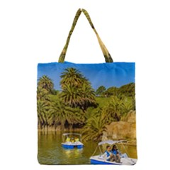 Parque Rodo Park, Montevideo, Uruguay Grocery Tote Bag by dflcprintsclothing