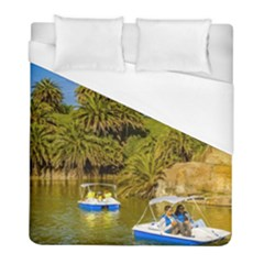 Parque Rodo Park, Montevideo, Uruguay Duvet Cover (full/ Double Size) by dflcprintsclothing
