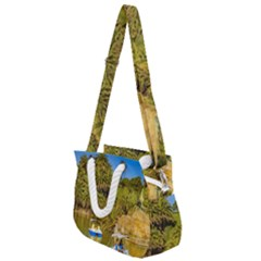 Parque Rodo Park, Montevideo, Uruguay Rope Handles Shoulder Strap Bag by dflcprintsclothing