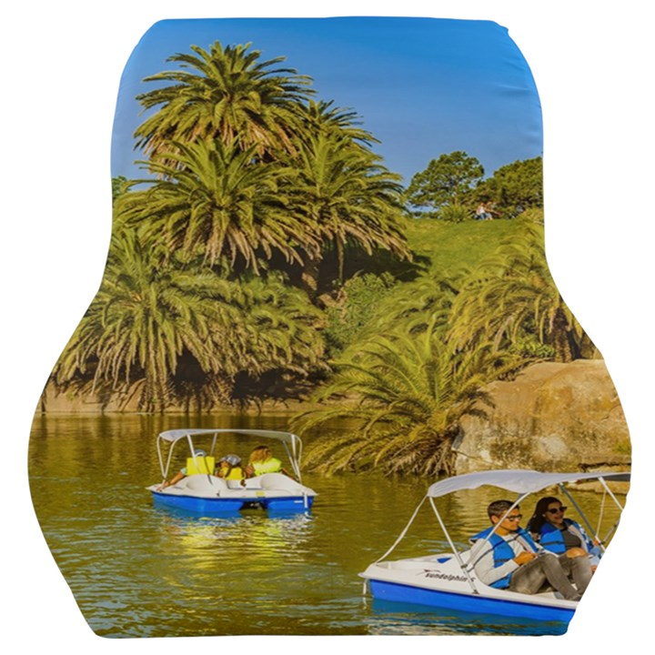 Parque Rodo Park, Montevideo, Uruguay Car Seat Back Cushion