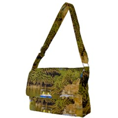 Parque Rodo Park, Montevideo, Uruguay Full Print Messenger Bag (s) by dflcprintsclothing