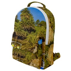 Parque Rodo Park, Montevideo, Uruguay Flap Pocket Backpack (small) by dflcprintsclothing