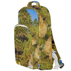 Parque Rodo Park, Montevideo, Uruguay Double Compartment Backpack