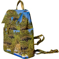 Parque Rodo Park, Montevideo, Uruguay Buckle Everyday Backpack by dflcprintsclothing