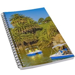 Parque Rodo Park, Montevideo, Uruguay 5 5  X 8 5  Notebook by dflcprintsclothing