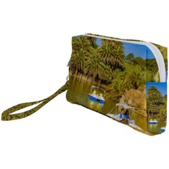 Parque Rodo Park, Montevideo, Uruguay Wristlet Pouch Bag (small) by dflcprintsclothing