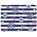 Seamless-marine-pattern Samsung Galaxy Tab 7  P1000 Flip Case View1