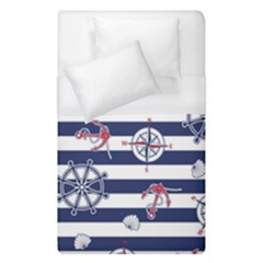 Seamless-marine-pattern Duvet Cover (single Size)