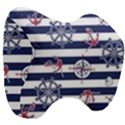 Seamless-marine-pattern Head Support Cushion View3