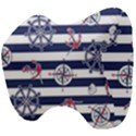 Seamless-marine-pattern Head Support Cushion View4