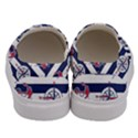 Seamless-marine-pattern Men s Canvas Slip Ons View4