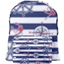 Seamless-marine-pattern Giant Full Print Backpack View1
