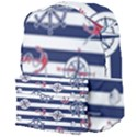 Seamless-marine-pattern Giant Full Print Backpack View4