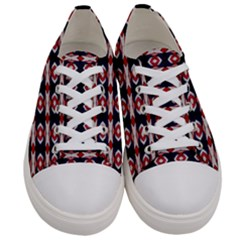 Patriotic  Men s Low Top Canvas Sneakers