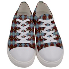 Geometry Tri Men s Low Top Canvas Sneakers