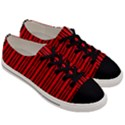 Tarija 016ix Red Black Men s Low Top Canvas Sneakers View3