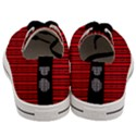Tarija 016ix Red Black Men s Low Top Canvas Sneakers View4
