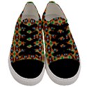 Eclectic  Men s Low Top Canvas Sneakers View1