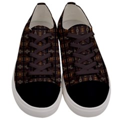 Naple 014ix Men s Low Top Canvas Sneakers