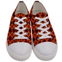 Eruption  Men s Low Top Canvas Sneakers View1