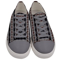 Tennessesse 013ix Men s Low Top Canvas Sneakers