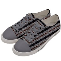Tennessesse 013ix Men s Low Top Canvas Sneakers by mrozard