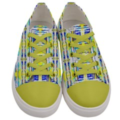 Amazon 008 Yellow Men s Low Top Canvas Sneakers