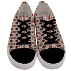 England 010ix Men s Low Top Canvas Sneakers