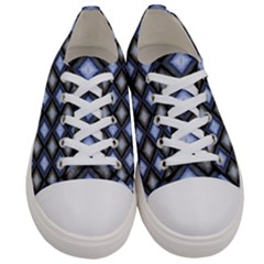Hybrid  Men s Low Top Canvas Sneakers