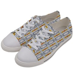 Sleak Men s Low Top Canvas Sneakers by mrozara