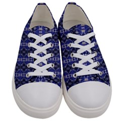 Superstitious  Men s Low Top Canvas Sneakers