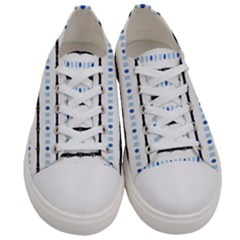 Tennessesse 015piix Men s Low Top Canvas Sneakers