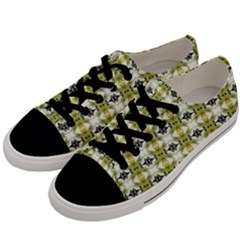 Daring Men s Low Top Canvas Sneakers by mrozara