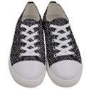 Brisbane_White Men s Low Top Canvas Sneakers View1