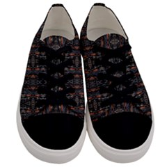 Texas 017 Men s Low Top Canvas Sneakers