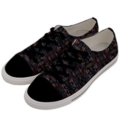 Texas 017 Men s Low Top Canvas Sneakers by mrozard