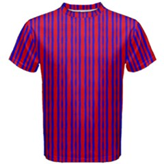 Tarija 016ix Red Blue Men s Cotton Tee