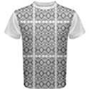 Sydney 9 White Men s Cotton Tee View1