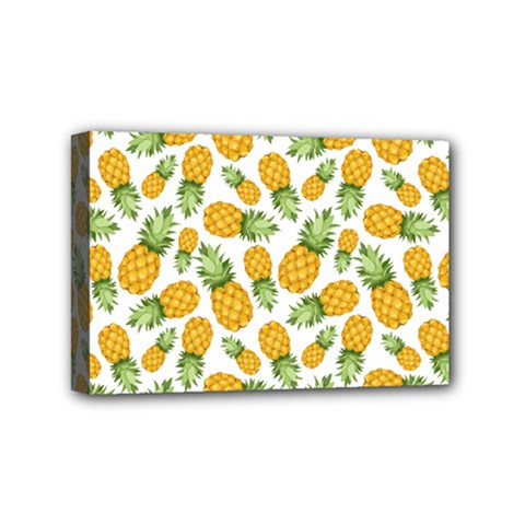 Pineapples Mini Canvas 6  X 4  (stretched) by goljakoff