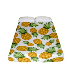 Pineapples Fitted Sheet (full/ Double Size) by goljakoff