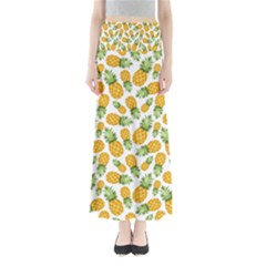Pineapples Full Length Maxi Skirt by goljakoff