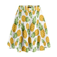 Pineapples High Waist Skirt