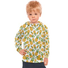 Pineapples Kids  Hooded Pullover by goljakoff