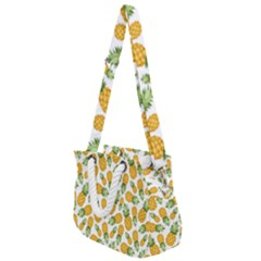 Pineapples Rope Handles Shoulder Strap Bag by goljakoff