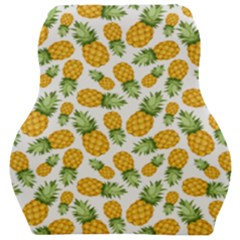 Pineapples Car Seat Velour Cushion  by goljakoff