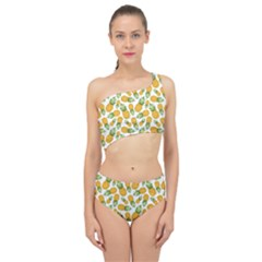 Pineapples Spliced Up Two Piece Swimsuit by goljakoff