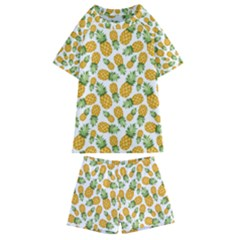 Pineapples Kids  Swim Tee And Shorts Set by goljakoff