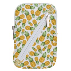 Pineapples Belt Pouch Bag (small) by goljakoff