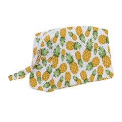 Pineapples Wristlet Pouch Bag (medium) by goljakoff
