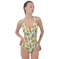 Pineapples Side Cut Out Swimsuit by goljakoff